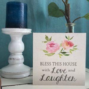 Belle Maison Wood Sign